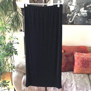 CHICOS Travelers Slinky Travel Knit Maxi Skirt